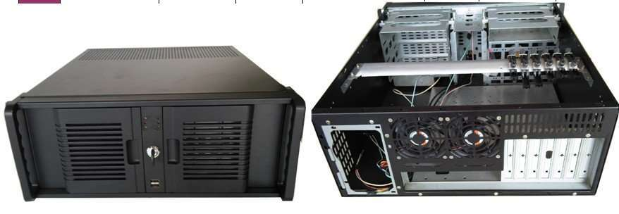 4U Rackmount Chassis- Model 4UK