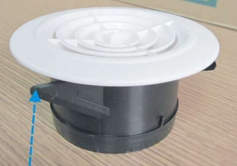 Plastic Round Air Grilles Manufacturer Supplier China