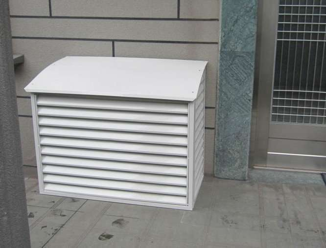 AC Outdoor Unit Cube Guard