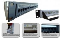 Cat.6A UTP Patch Panel