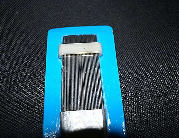 Fin comb slice for air conditioner outdoor unit