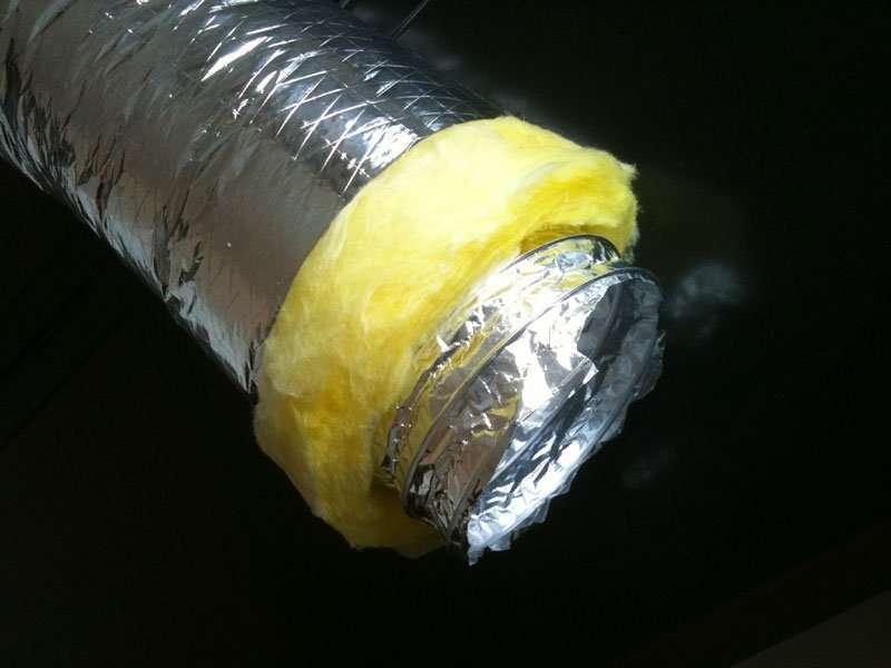 Insulated Aluminium flexible air ducts