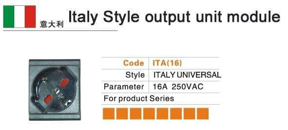 Italy-Style-output-unit-mod