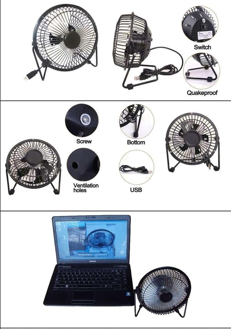 Mini USB desktop Fan