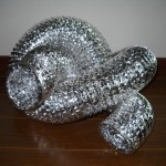 Non-insulated aluminium flexible air ducts with single aluminum foil
