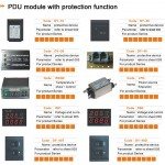 PDU module with protection function
