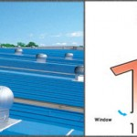 Wind Driven Turbine Roof Ventilator