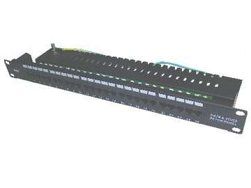 UTP Cat.3  25ports Data&Voice patch panel