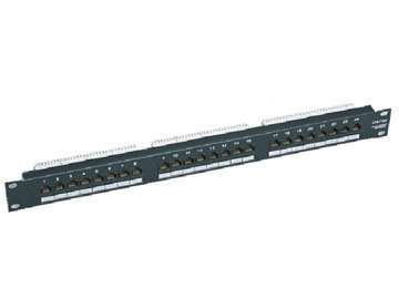 UTP Cat.5E 24 ports patch panel 5