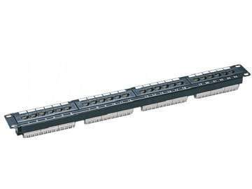 UTP Cat.5E 24 ports patch panel