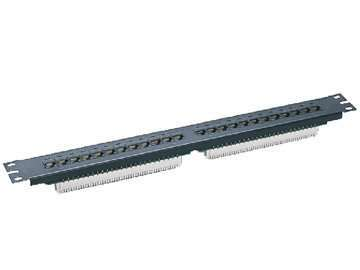 UTP Cat.5E 24ports patch panel 3