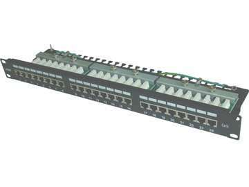 UTP Cat.5E 24ports patch panel