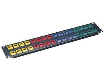 UTP Cat.5E 32ports Snap in patch panel