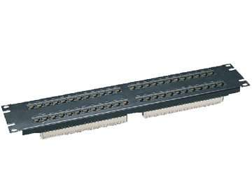 UTP Cat.5E 48 ports patch panel 2