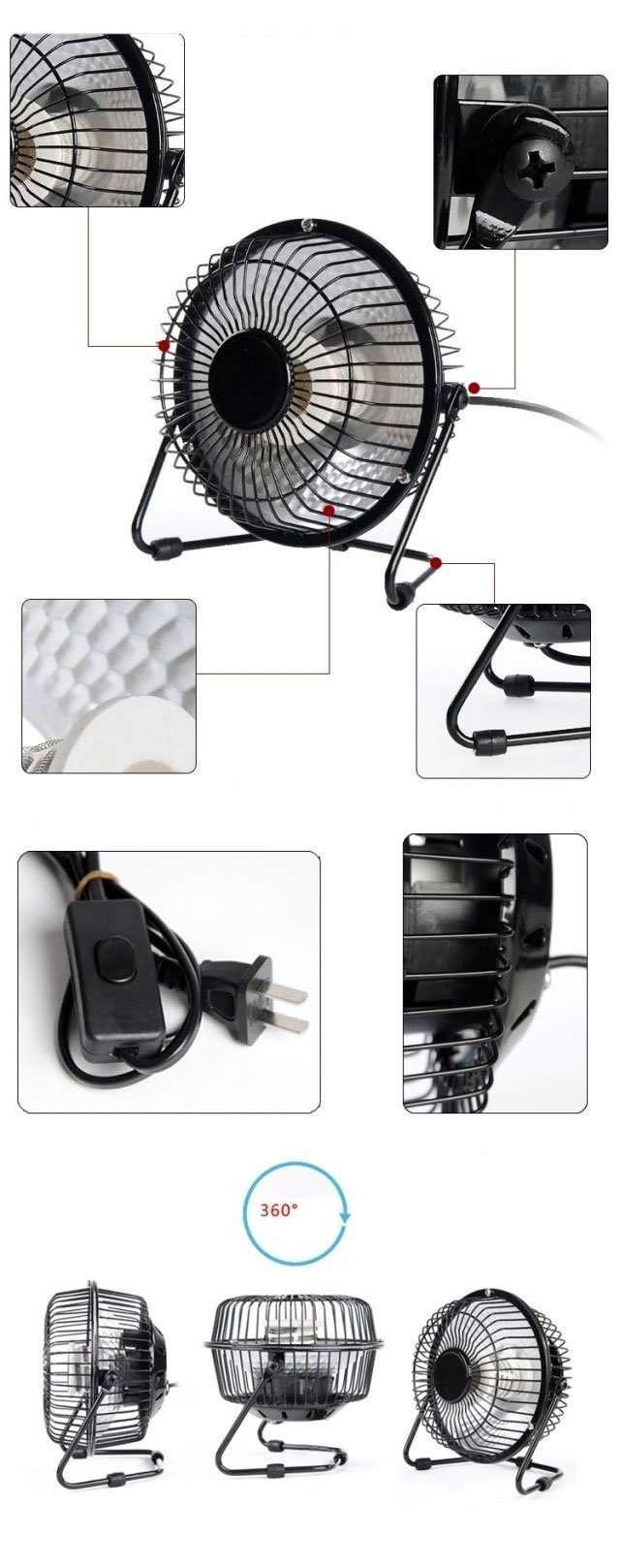 Portable Desktop Mini Electric Heater details