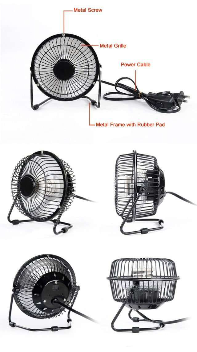 more details on Portable Desktop Heater