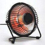 Portable Reflective Halogen Space Heater