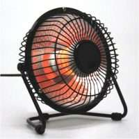 Mini Desktop Electric Fan Heater