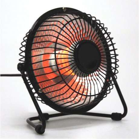 Compact Mini Oscillating Electric Heater