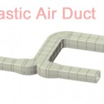 Plastic Air  Duct System,Ventilation plastic duct