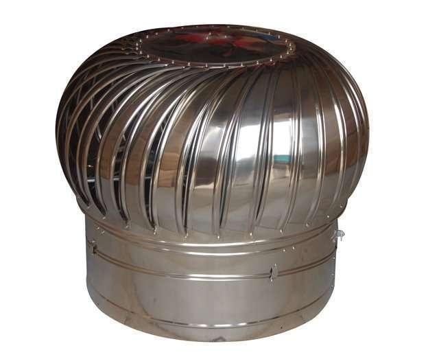 Wind Powered Attic Ventilation : Air conditioner parts roof ventilator wind powered