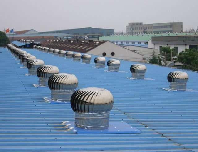Roof Ventilator Wind Powered