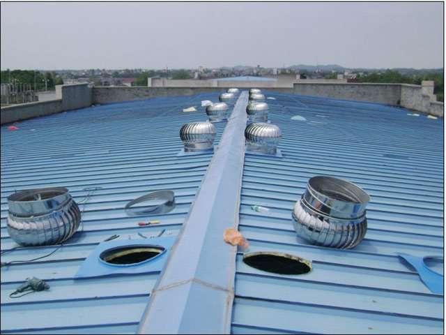 Picture Of Roof Ventilator Turbo : Dynavent turbine ventilator wind driven manufacturer
