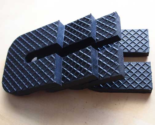 Rubber Anti Vibration Pads fit split air conditioner heat pump