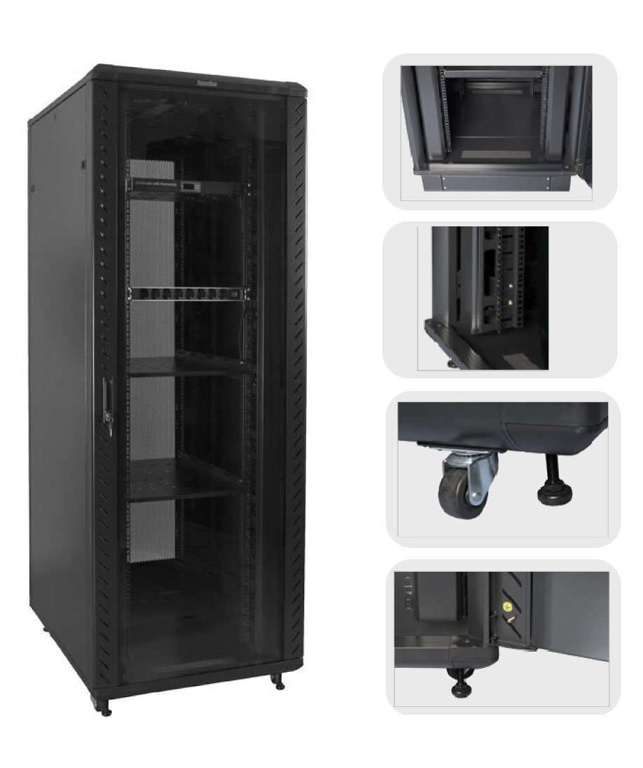 Trolley Type Network Cabinets