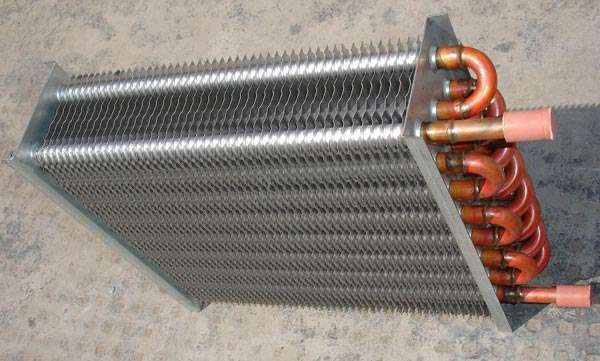 Air Heat Exchanger ~ Solar utilizing finned u tube air cooled heat exchanger