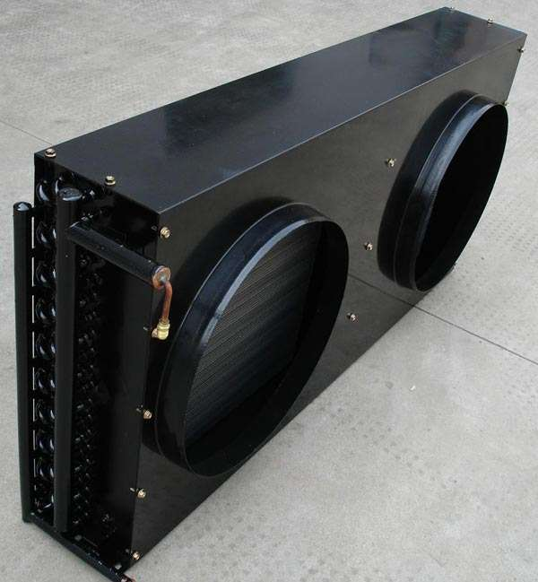 Finned Tube Air Cooled Heat Exchanger with fan installation frame