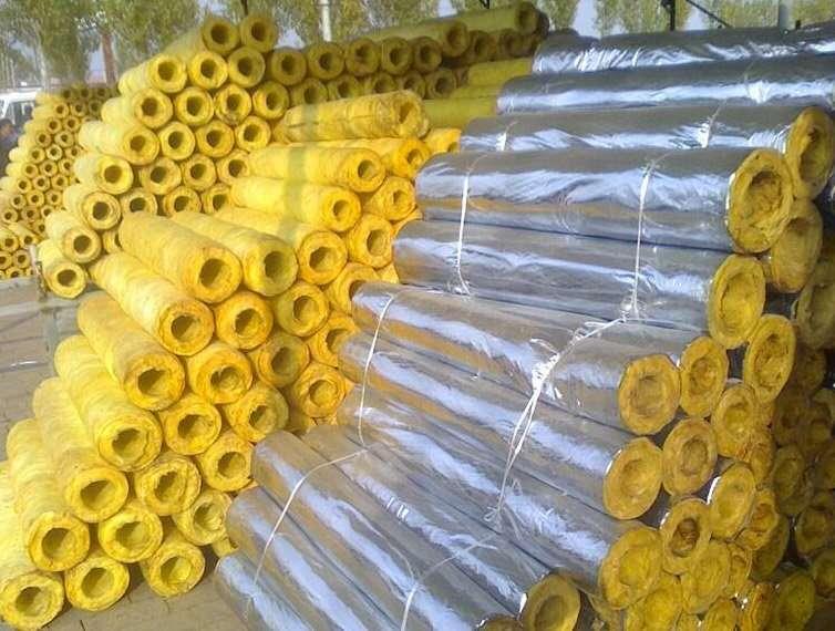 Fiberglass insulation pipe