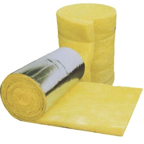 Fiberglass insulation roll mat