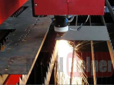 laser-cutting sheet metal