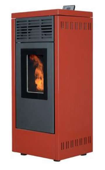 indoor fireplace Wood Pellet Stove Model 04