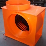 Centrifugal-blower-fan-unit