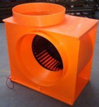 Centrifugal blower fan unit