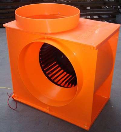 Centrifugal blower fan unit