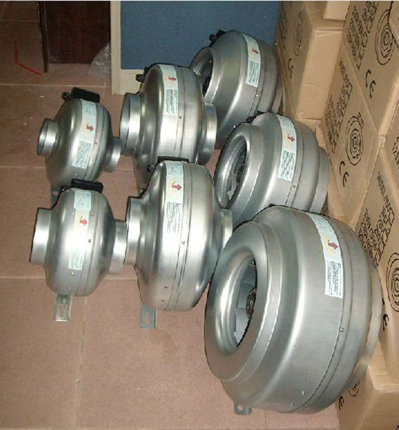 Air Conditioner Spare Parts Circular Duct Fan