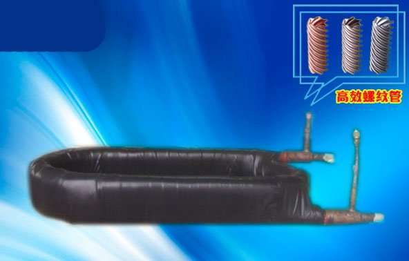 Coaxial condenser for marine