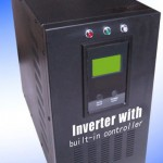 Solar Inverter with built-in solar charge controller