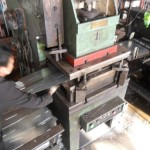 Stainless steel plate punching