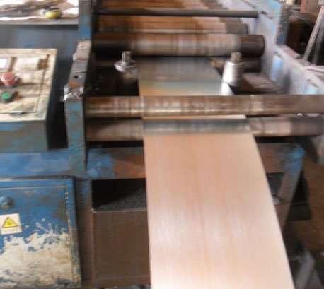 Steel sheet stamping