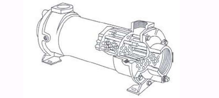 water-cooled-heat-exchanger