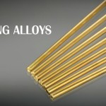 Brazing rod to join pieces of metal type