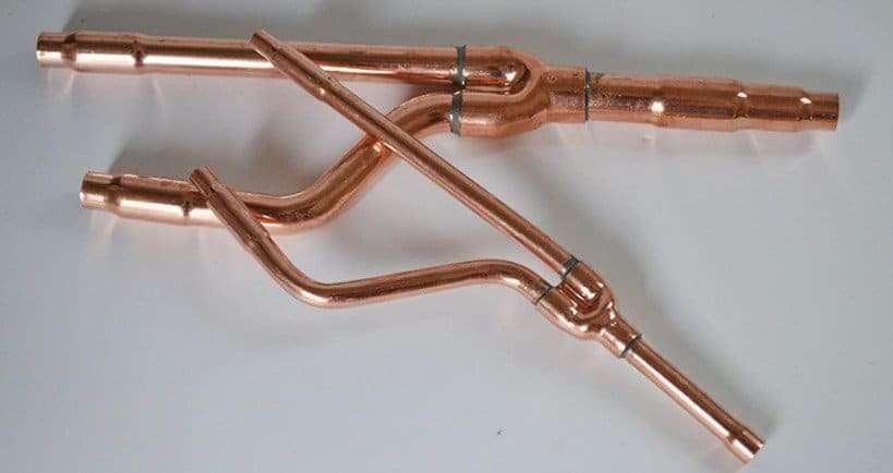 Daikin Copper Distribution Tube Fittings 22