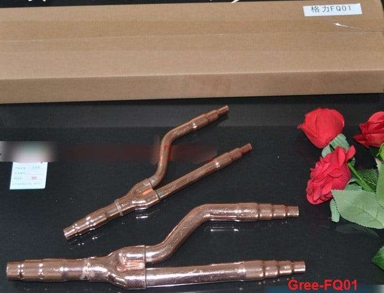 Gree Copper Distribution Tube Fittings Y Branch Joint Gree-FQ01