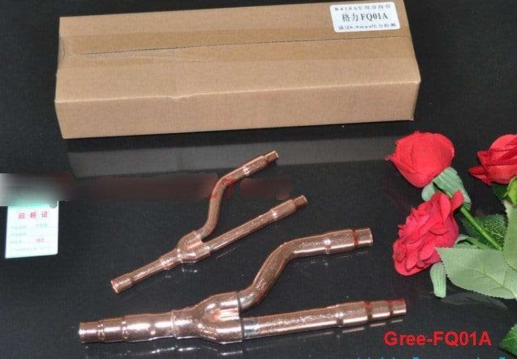 Gree Copper Distribution Tube Fittings Y Branch Joint Gree-FQ01A