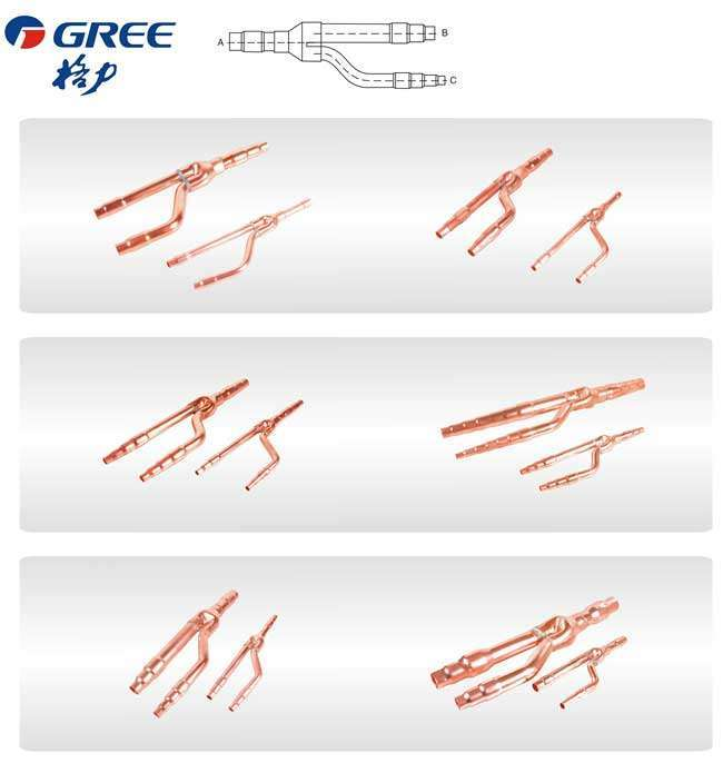 Gree Copper Branch Joint