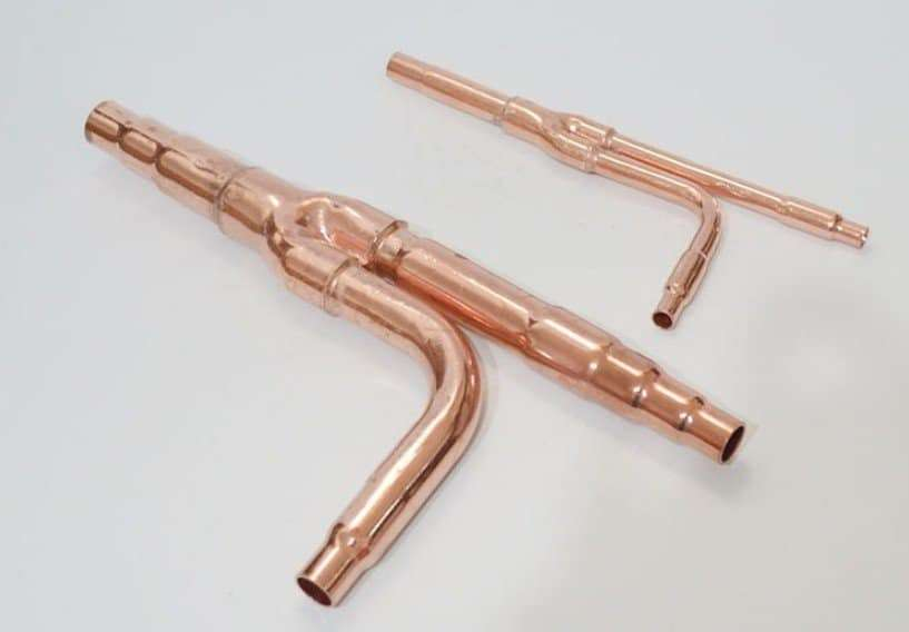 Hitachi Copper Distribution Tube Fittings 2